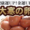 大寒卵で健康運アップ!金運アップ!【予約受付開始】